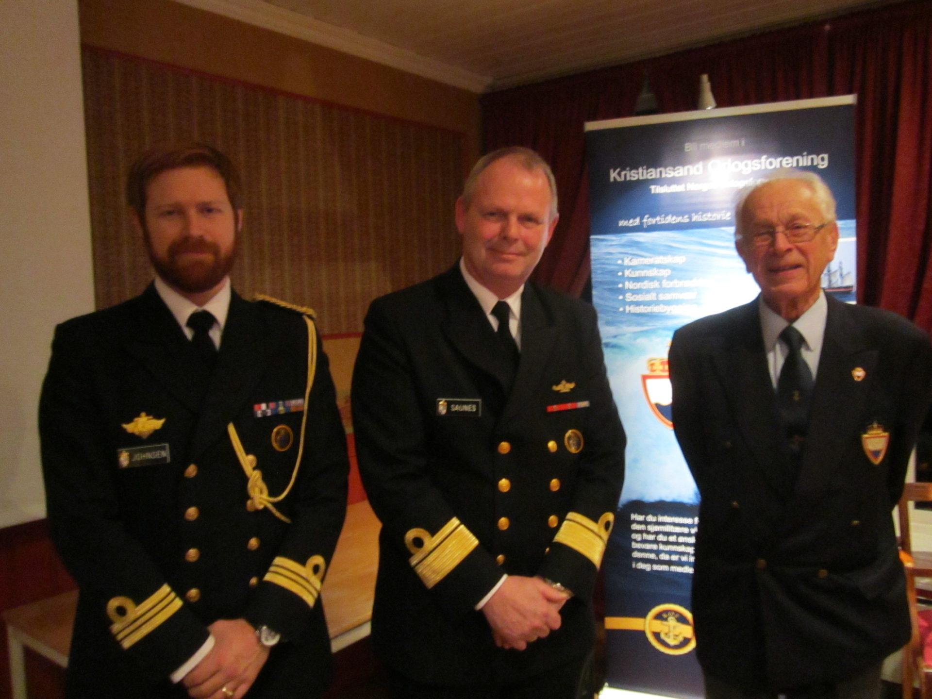 Besøk av Lars Saunes Generalinspektør for Sjøforsvaret